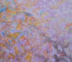 Nature #1 アクリル、胡粉ジェッソ、キャンバス 45.5×53cm