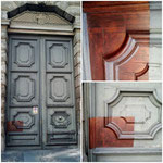 restauo portone antico Milano