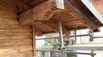 restauro sotto tetto Coggiola (BI)