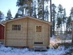 Seit Winter 2010/2011 steht unsere neue Sauna