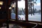 Traumhafter Ausblick aus Panoramafenster