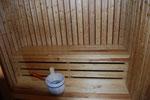 Sauna mit programmierbarem Saunaofen