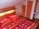 Doppelzimmer mit Warm-/Kaltwasser