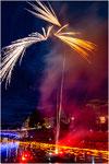Feuerwerk während der Lichterserenade 2019 in Ulm