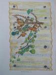 Herbstbild 1, Pastell, 60x35, 2013