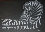 Steppn Rock´n Roller, Pastell, 30x40, 2014