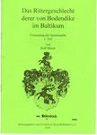 """Heft Nr. 23, """"Das Rittergeschlecht .... Baltikum""""; Autor: R. Simon"""