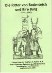 """Heft Nr. 15, """"Die Ritter von Bodenteich ....."""" , Autor:  M.A. Stephan Rother"""
