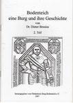 """Heft Nr. 21, """"Bodenteich eine Burg und ihre Geschichte"""" 2.Teil; Autor: Dr. D. Brosius"""