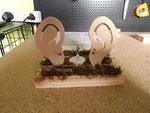 décoration en bois en kit, oreilles pour boutique appareillage auditif