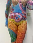 Bodypainting bei Gabriela Hajek-Renner