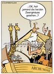 Arche Noah  -  Kunde: Eisenberger-Illustration