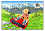 Alpine Coaster  -  Agentur: Medienjäger, Innsbruck  -  Kunde: Skiarena Klausberg/Südtirol