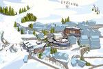 Serfaus Übersichtsplan  -  Kunde: Serfaus Mountain Lodge