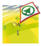 Drache  -  Kunde: Key Account, Österreichischer Agrarverlag