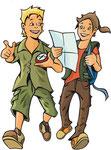 Lars & Lotta  -  Agentur: Egon.cx, Graz  -  Kunde: Junior-Ranger.de