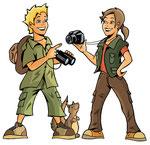 Junior Ranger  -  Agentur: Egon.cx, Graz  -  Kunde: Junior-Ranger.de