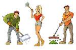 Haushaltstätigkeiten  -  Agentur: Waltl & Waltl, Graz  -  Kunde: Men at Work Object Service