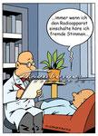Psychiater  -  Kunde: Eisenberger-Illustration