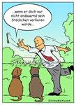 Hunde  -  Kunde: Eisenberger-Illustration