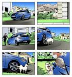 Mazda 3 Storyboard  -  Kunde: Schönhals-Schmidtler GmbH
