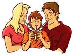Familie  -  Agentur: AD-Ventures, Graz  -  Kunde: Stainzer Milch