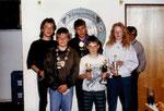 Jahr 1991: Schützenkönig: Schreiner Florian