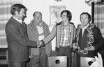 Jahr 1978: Schüteznkönig: Kagerer Gottfried, Wurstkönig: Kindermann Martin Sen., Brezenkönig: Fischer Adolf