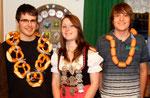Jahr 2011: Schützenkönigin: Weidel Marion, Wustkönig: Kaypinger Tobias, Brezenkönig: Lichter Carsten
