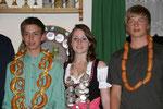 Jahr 2009: Schützenkönigin: Weidel Marion, Wurstkönig: Settles Lukas, Brezenkönig: Schacherl Lukas