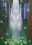 Engel des Vertrauens, Acryl 2015