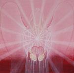 Engel der Liebe, Acryl 2012
