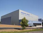 Blick auf das Logistikcenter kurz nach der Fertigstellung