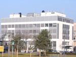Laborgebäude nach der Fassadensanierung