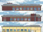 Farbkonzept Fassade und Innenbereich