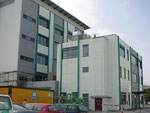 Labor-, Verwaltungs- und Sozialgebäude
