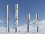 Planung der Kommunikations- und Signalsäulen für PKW und LKW