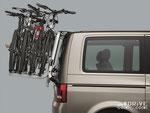 Крепление для велосипедов. Фото фирменное