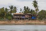 Häuser der Locals (Si Phan Don)