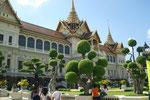 Wat Phra Kaew, der Königspalast  (Bangkok)