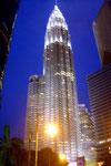 Petronas Tower bei Nacht