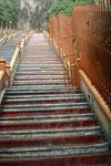 Wasserfall statt Treppe