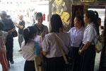 Interview von thailändischen Schülern
