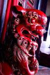 Skulptur in einem buddhistischen Tempel (Melaka)
