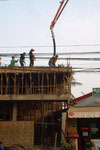 Baustelle in Vientiane