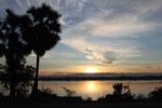 Sonnenaufgang über dem Mekong (Don Khong)