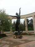 Der amerikanische Soldatenfriedhof von Colleville