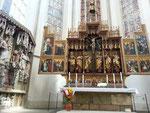 Heiligblut-Altar von Tilman Riemenschneider, Abendmahl 1505