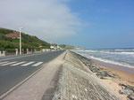 Omaha Beach Normandie, Frankreich