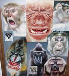 Emotionen -  Maße: 45 x 55cm    Holzbilderrahmen, verglast   25€